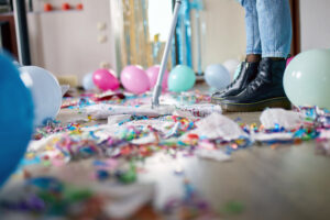 A Step by Step Guide to Cleaning Up After a Party